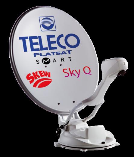 Roof Unit For FlatSat Sky Q Autoskew system